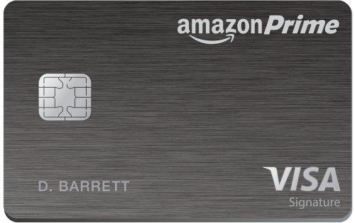 Amazon Prime Rewards Visa Signature credit card