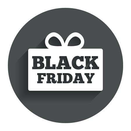 Black Friday gift sign