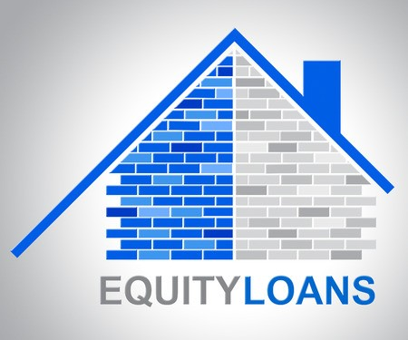 Brick home equity loan sketch