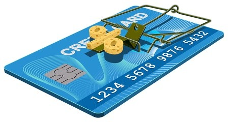 Credit card interest rate trap