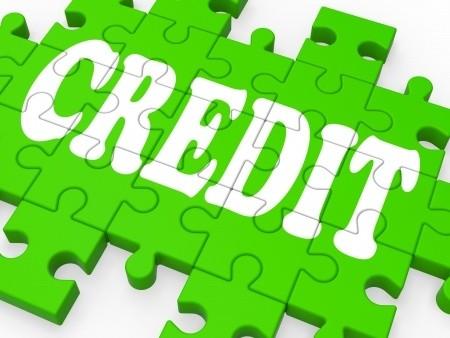 Credit puzzle pieces