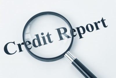 credit report magnified