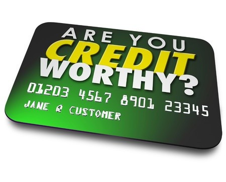 Are you credit worthy written on green card card