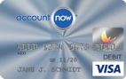AccountNow® Prepaid Visa® Card