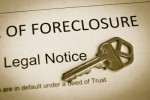foreclosure legal notice and property key