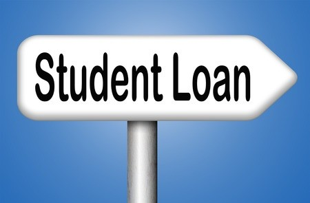 Student Loan Right Arrow Sign
