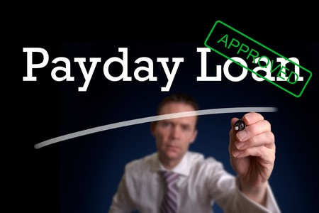 Underwriter writing payday loan approved
